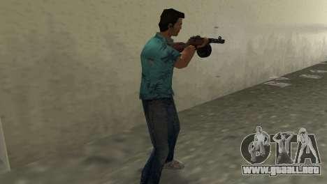 Submachine Gun Shpagina para GTA Vice City tercera pantalla