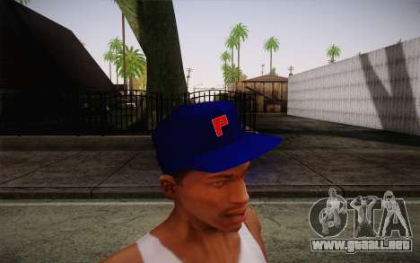 Penshoppe Cap para GTA San Andreas