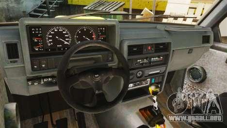 Nissan Patrol Buggy para GTA 4 vista hacia atrás