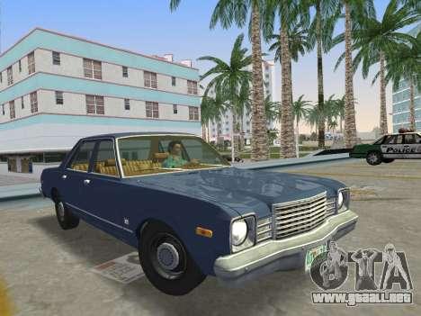 Dodge Aspen 1979 para GTA Vice City