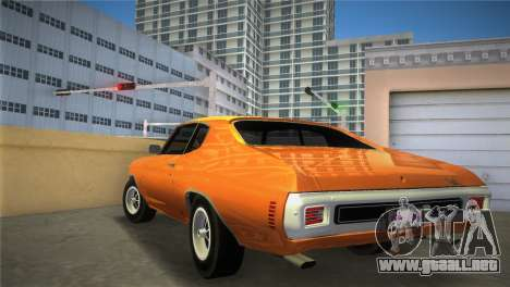 Chevrolet Chevelle SS para GTA Vice City left