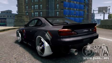 Nissan Silvia S15 Street Drift para GTA 4 left