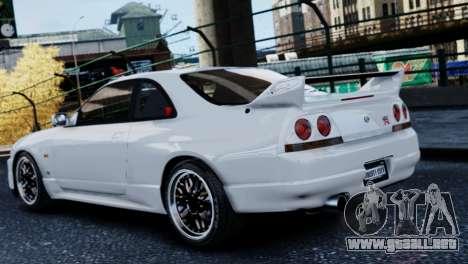 Nissan Skyline R33 1995 para GTA 4 left