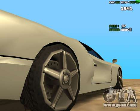 Freeze Root para GTA San Andreas segunda pantalla