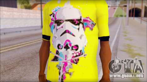 Star Wars Clone T-Shirt para GTA San Andreas tercera pantalla