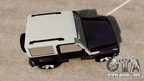 Troller T4 para GTA 4 visión correcta