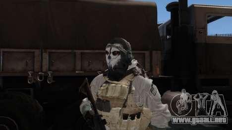 Army Ghost v1 para GTA San Andreas tercera pantalla