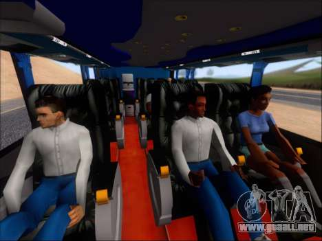 Metalsur Starbus DP 1 6x2 - La Veloz del Norte para la vista superior GTA San Andreas