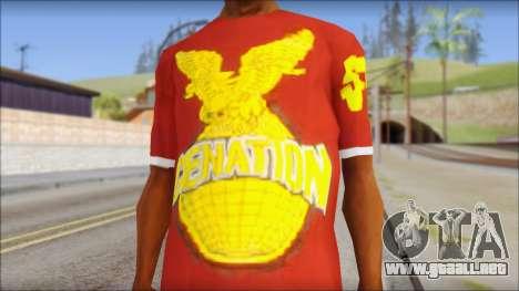 Cenation EHacker Shirt para GTA San Andreas tercera pantalla