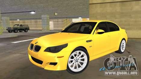 BMW M5 E60 para GTA Vice City