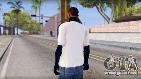 Fabri Fibra T-Shirt para GTA San Andreas segunda pantalla