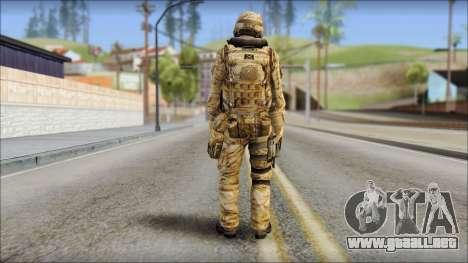 Desert UDT-SEAL ROK MC from Soldier Front 2 para GTA San Andreas segunda pantalla