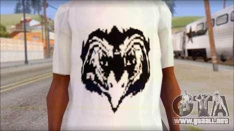 Free Bird T-Shirt para GTA San Andreas tercera pantalla