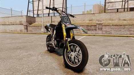 Yamaha YZF-450 v1.8 para GTA 4