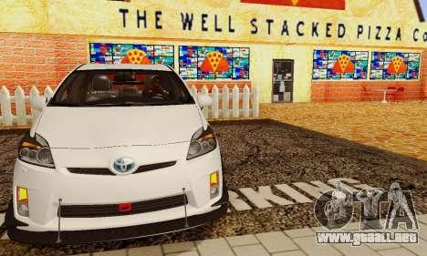 Toyota Prius Tunable para vista inferior GTA San Andreas