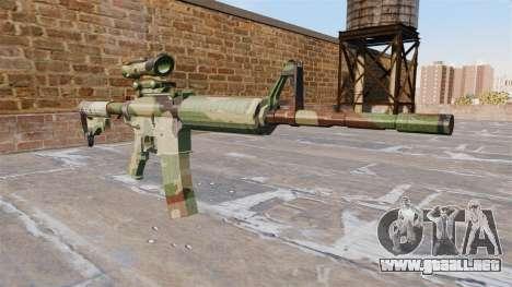 Automático de la carabina, PERO la OTAN Camo para GTA 4