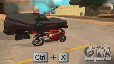 Car Hack para GTA San Andreas tercera pantalla