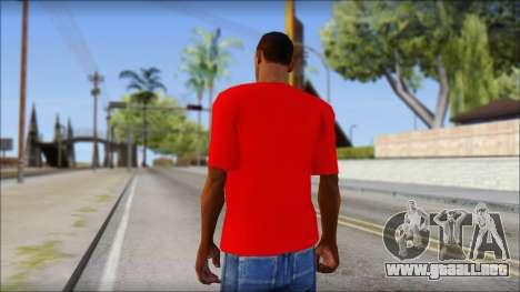 Turkish Football Uniform v4 para GTA San Andreas segunda pantalla