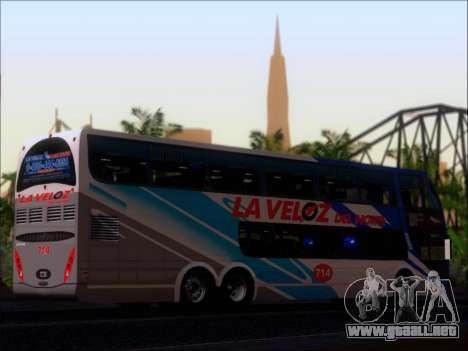 Metalsur Starbus DP 1 6x2 - La Veloz del Norte para visión interna GTA San Andreas