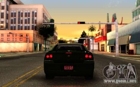 SA_New ENB para GTA San Andreas quinta pantalla