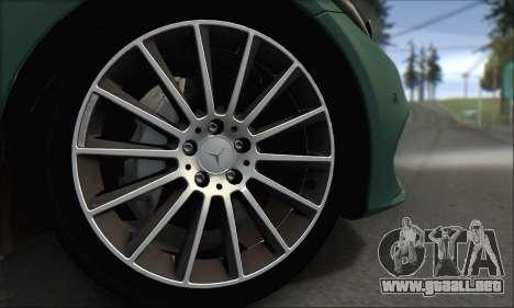 Mercedes-Benz C250 V1.0 2014 para vista lateral GTA San Andreas