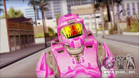 Masterchief Pink from Halo para GTA San Andreas