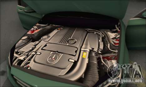 Mercedes-Benz C250 V1.0 2014 para GTA San Andreas interior