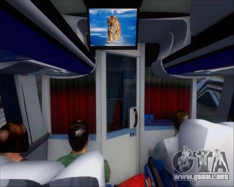 Busscar Vissta LO Scania K310 - Tur Bus para el motor de GTA San Andreas