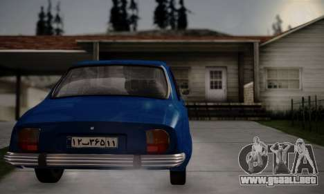 Peugeot 504 para GTA San Andreas left