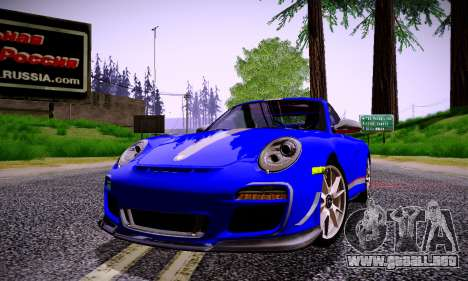 ENBSeries for low PC v2 fix para GTA San Andreas octavo de pantalla