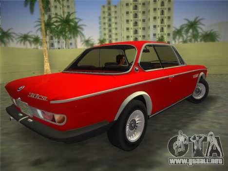 BMW 3.0 CSL 1971 para GTA Vice City left