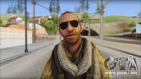 Afganistan Forces para GTA San Andreas tercera pantalla