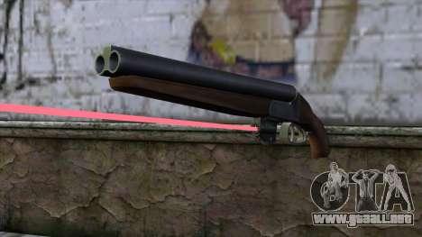 Sangrar con mira láser para GTA San Andreas