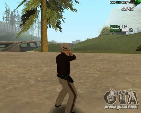 Standing Somersault para GTA San Andreas tercera pantalla
