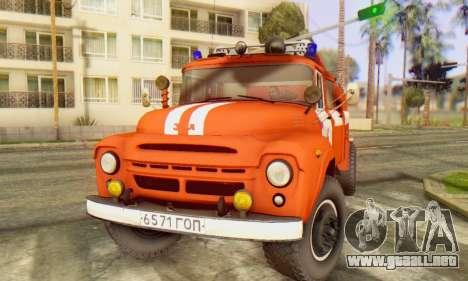 ZIL 130 CA-40 para la visión correcta GTA San Andreas