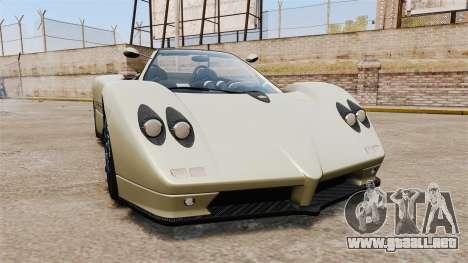 Pagani Zonda C12S Roadster 2001 v1.1 PJ1 para GTA 4