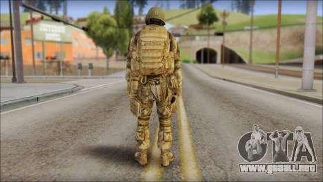 Desert GROM from Soldier Front 2 para GTA San Andreas segunda pantalla
