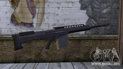 Heavy Sniper from GTA 5 para GTA San Andreas segunda pantalla