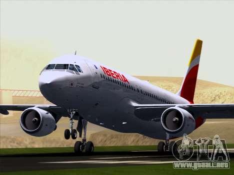 Airbus A320-214 Iberia para visión interna GTA San Andreas