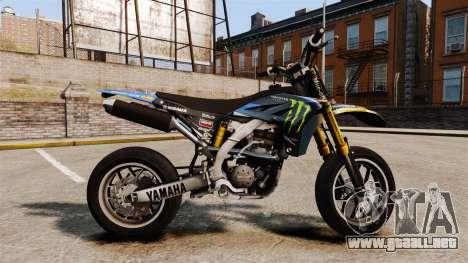 Yamaha YZF-450 v1.8 para GTA 4 left