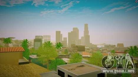 ENBSeries para un PC potente para GTA San Andreas tercera pantalla