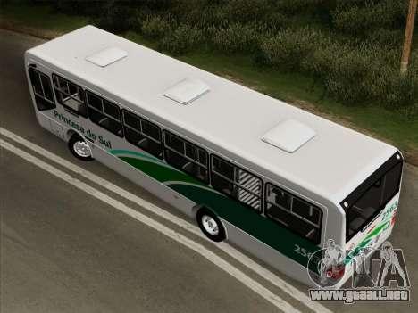 Mascarello Gran Via Mercedes-Benz OF1418 para GTA San Andreas vista hacia atrás