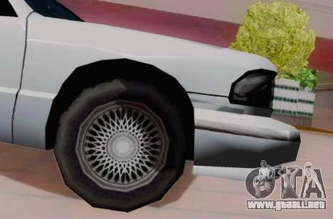 Premier Coupe para la visión correcta GTA San Andreas