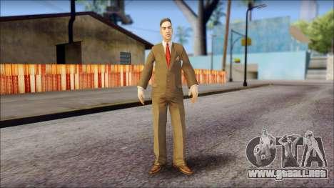 Dr. Crabblesnitch from Bully Scholarship Edition para GTA San Andreas segunda pantalla