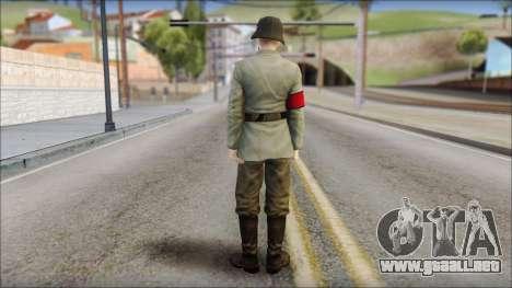 Wehrmacht soldier para GTA San Andreas segunda pantalla