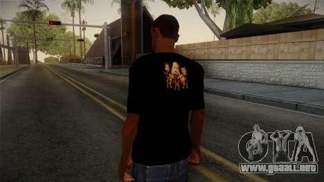 Netral T-Shirt para GTA San Andreas segunda pantalla