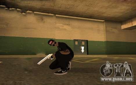 Swag Police para GTA San Andreas sucesivamente de pantalla