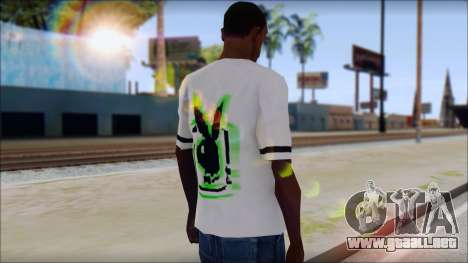 T-Shirt PlayBoy para GTA San Andreas segunda pantalla