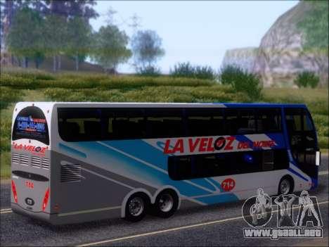 Metalsur Starbus DP 1 6x2 - La Veloz del Norte para las ruedas de GTA San Andreas