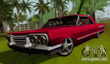 Savanna Coupe para GTA San Andreas